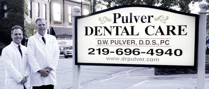 Pulver Dental Care Signage